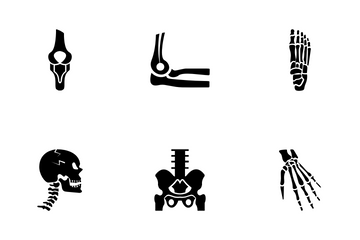 Orthopedic And Spine Icon Pack