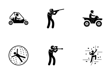 Outdoor Activities Icon Pack