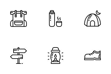 Outdoor Activity Icon Pack