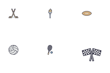 Outdoor Games Icon Pack