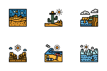 Outdoor Landscape Icon Pack
