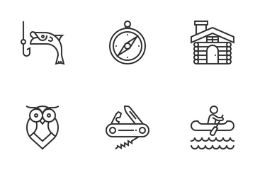Outdoor Recreation Icon Pack