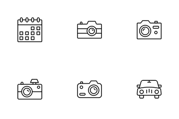 Outdoors Recreation Icon Pack