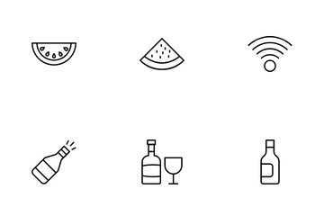 Outdoors Recreation  Vol 5 Icon Pack