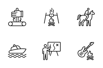 Outing And Journey Icon Pack