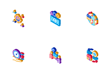 Outsource Management Icon Pack