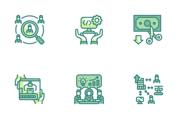 Outsourcing Icon Pack
