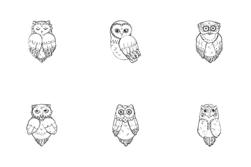 Owls Icon Pack