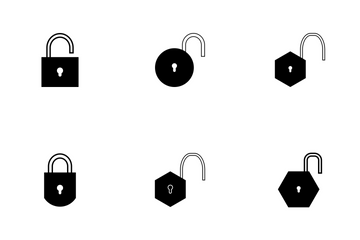 PADLOCK FILL Icon Pack