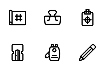 Painting Tool Icon Pack