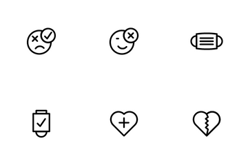 Pandemic Covid19 Icon Pack