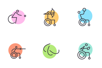 Paralympics Icon Pack