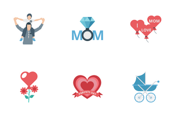 Parent Day Icon Pack