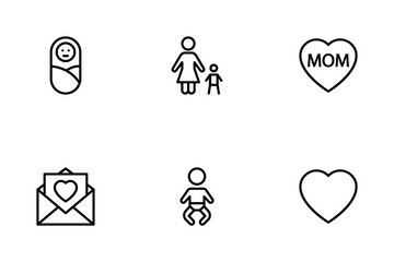 Parents Day Icon Pack