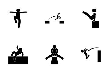 Parkour Icon Pack