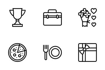 Party And Celebration 5 Icon Pack