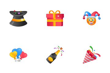 Party And Entertainment Icon Pack