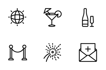 Party And Event  Icon Pack