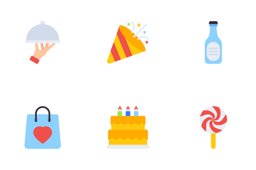 Party And Events Icon Pack