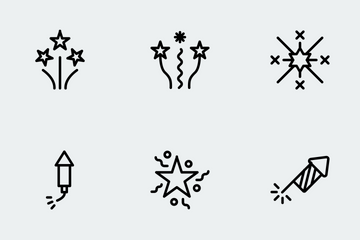 Party & Celebration Line Icon Icon Pack