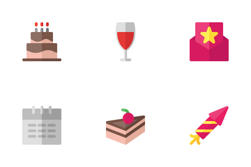 Party (Flat) Icon Pack