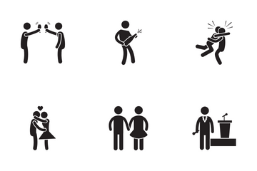 Party Human Icon Pack