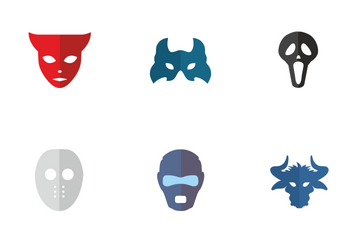 Party Masks  Icon Pack