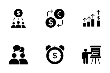 Passive Income Opportunities Icon Pack