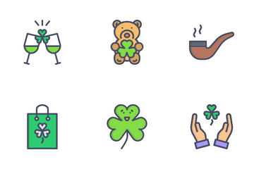 Patrick Day Icon Pack