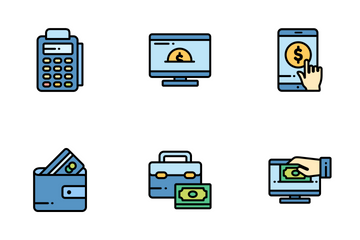 Payment And Electronic Money Icon Pack
