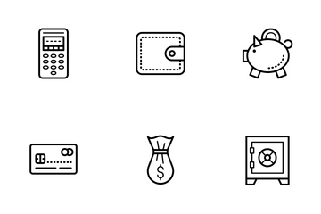 Payment, Shopping, E-commerce Icon Pack