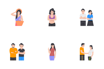 People And Activities Icon Pack