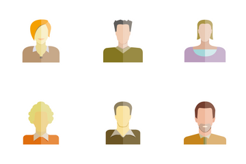 People Avatar 3 Icon Pack