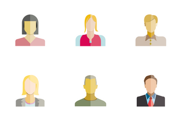 People Avatar 4 Icon Pack
