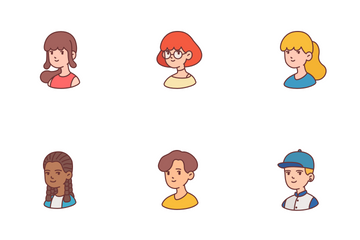 People Avatar Icon Pack