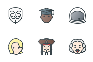 People & Avatars Icon Pack