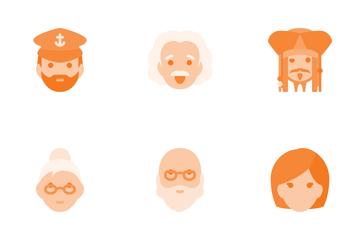 People & Avatars Icon Pack