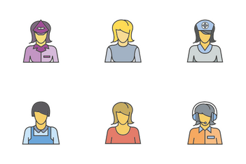 People Career 3 Icon Pack