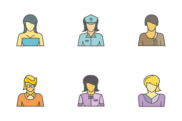 People Career 4 Icon Pack