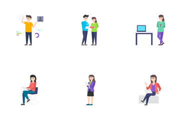People Character Icon Pack