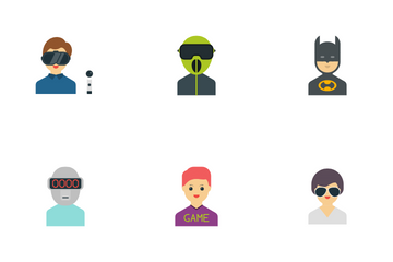 People Characters Icon Pack