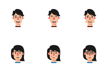 People Emoticon Icon Pack