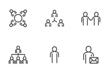People In Office Icon Pack