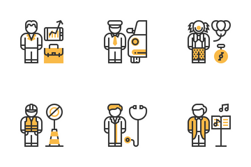 People Profession Icon Pack