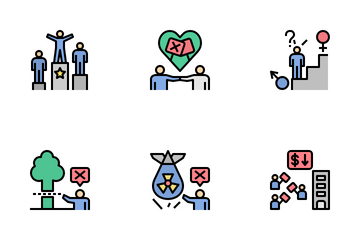 People's Rights And Liberties Icon Pack