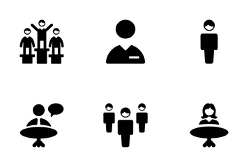 People Vector Icons Icon Pack