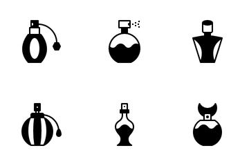 Perfume Bottle Icon Pack