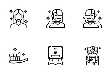 Personal Hygiene Icon Pack