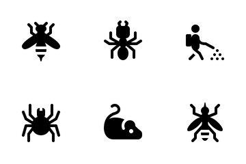 Pest Control Icon Pack