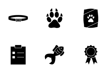 Pet Accessories Icon Pack